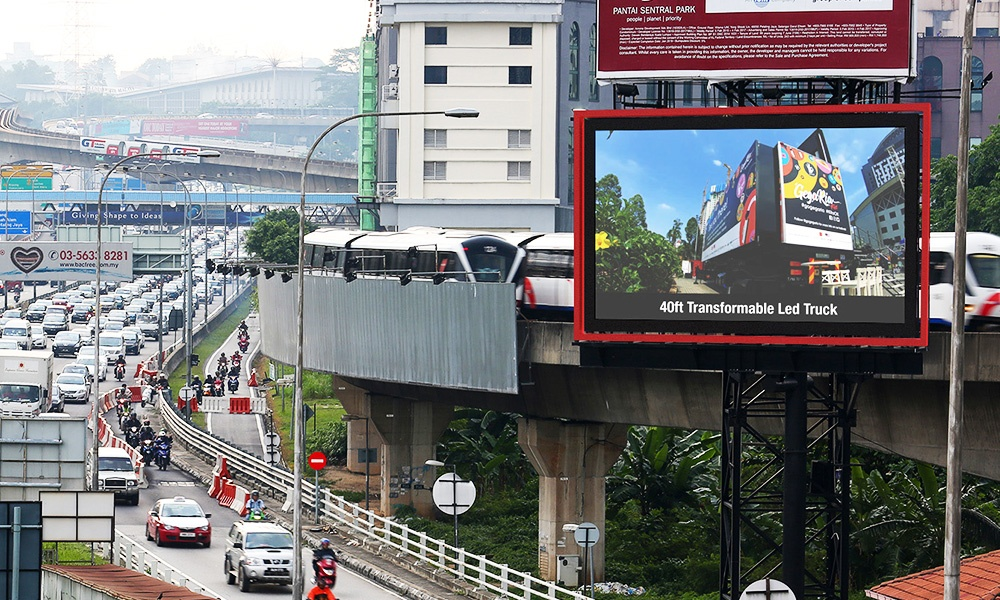 R-DigitalBillboard-Mid Valley, Federal Highway.